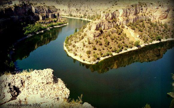 Hoces del Río Duratón (Segovia) ESPAÑA