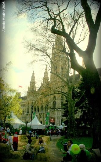 Parque del Ayuntamiento (Viena) AUSTRIA