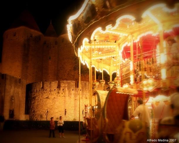 Porte  Narbonnaise -Carcassonne- (Languedoc Rosellón) FRANCIA