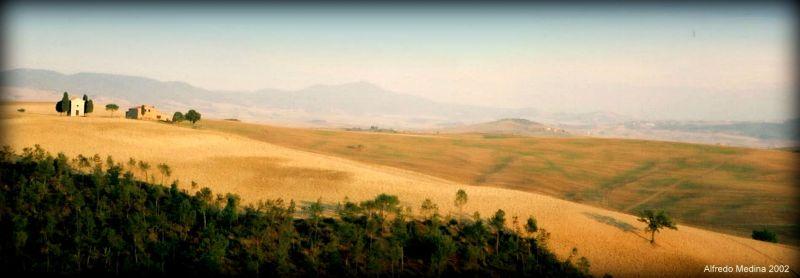 Paisaje del Valle del Orcia (Toscana) ITALIA
