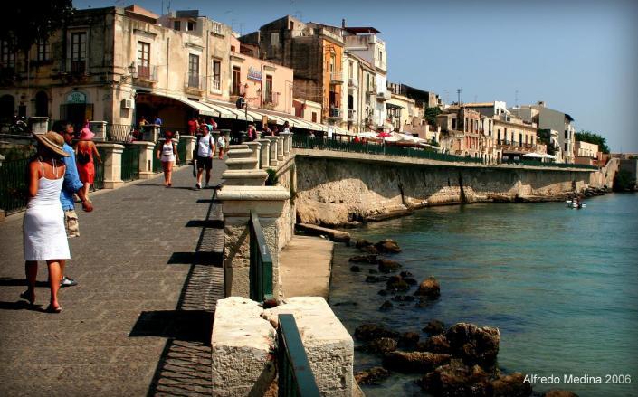 Lungomare Alfeo (Siracusa)-Sicilia- ITALIA