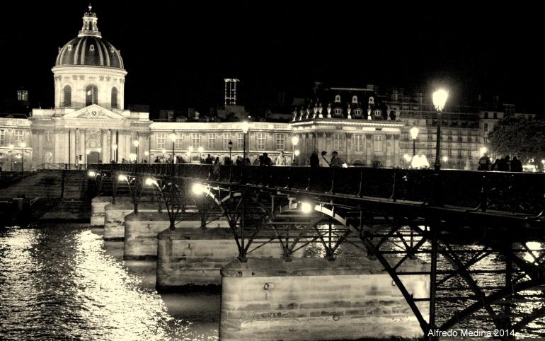 Puente de las Artes (París) FRANCIA