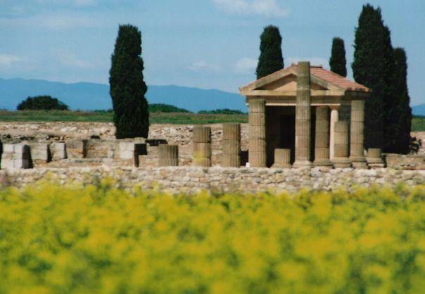 Ciudad Romana de Ampurias (Girona) ESPAÑA
