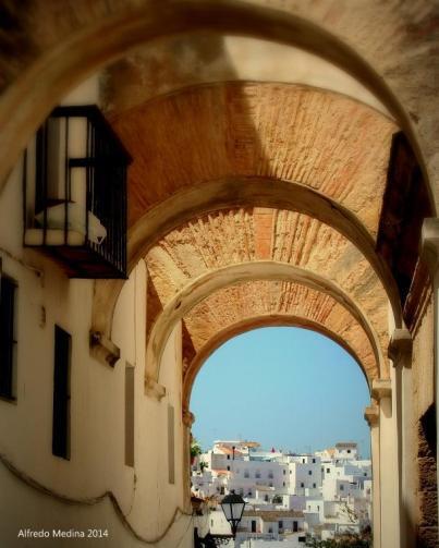 Arco de las Monjas (Vejer de la Frontera) Cádiz. ESPAÑA