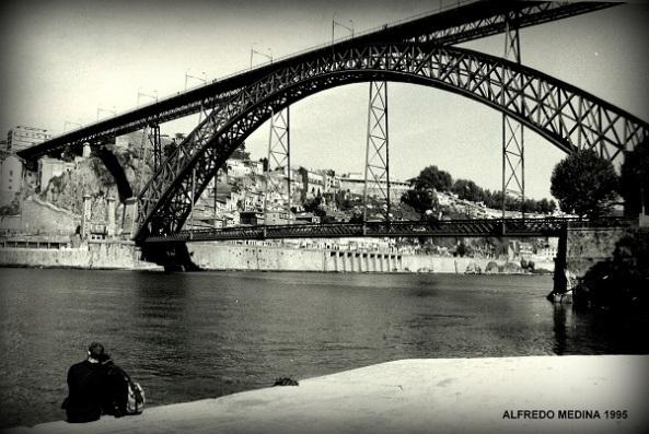 Puente Luis I, Oporto (PORTUGAL)