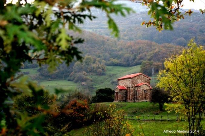 Santa Cristina de Lena (Lena) Asturias. ESPAÑA